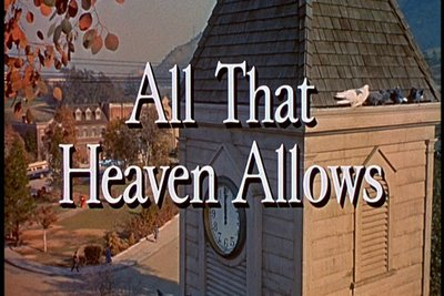 ALL THAT HEAVEN ALLOWS(1955)